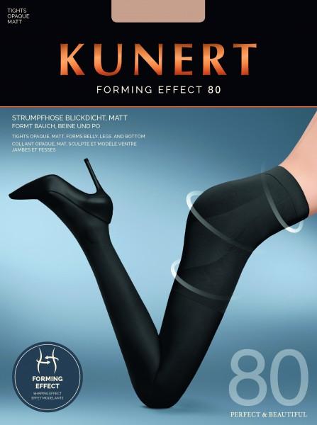 KUNERT Forming Effect 80 - Bequeme Stützstrumpfhose mit figurformendem Höschenteil