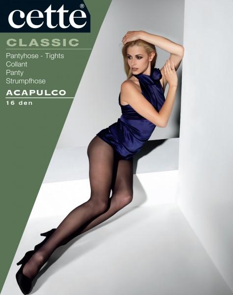 Cette Acapulco - Glatte Feinstrumpfhose mit elegantem Satinglanz