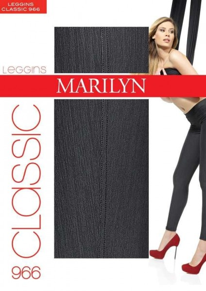 Marilyn Baumwoll-Treggings Classic, 120 DEN