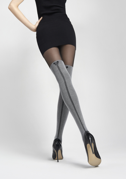 Marilyn Zazu J05 - Strumpfhose mit angesagter Overknee-Optik