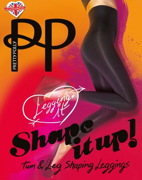 Pretty Polly - Blickdichte Figurformende Leggings Shape It Up