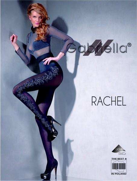 Gabriella Microfaser-Strumpfhose mit floralem Muster Rachel, 60 DEN