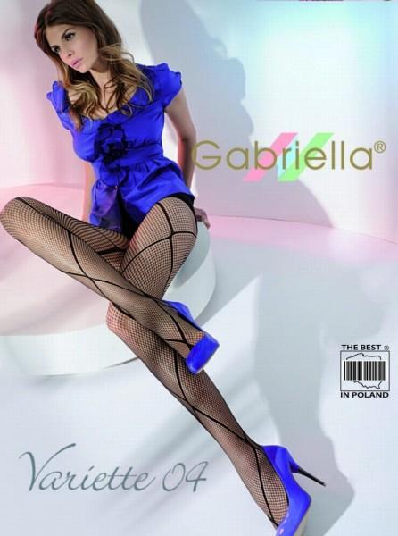 Gabriella Netzstrumpfhose Variette mit Muster