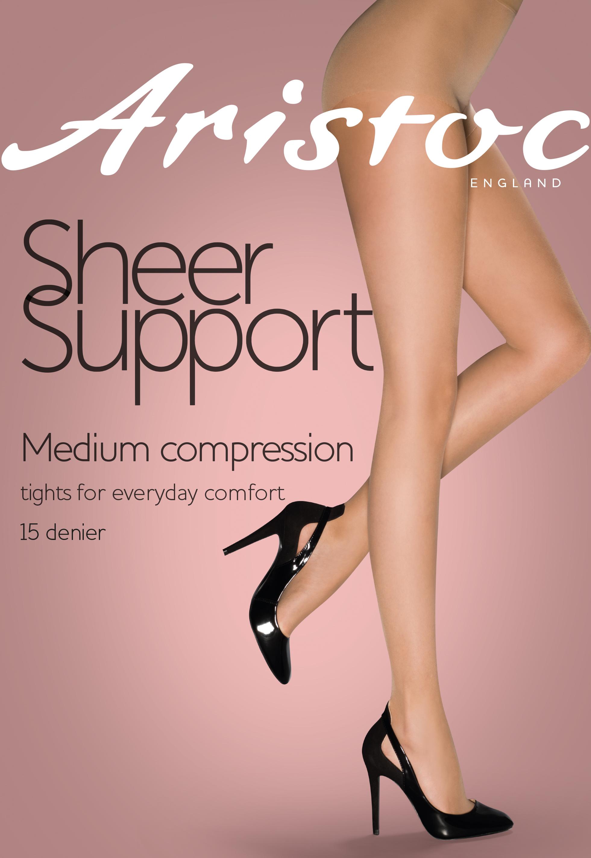 Aristoc Sheer Support 15 denier Feinstrumpfhose mit mittlerer Stützwirkung