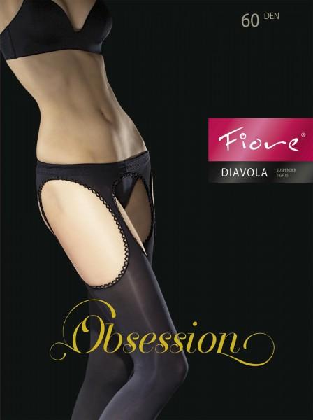 Blickdichte Strip Panty Diavola von Fiore, 60 DEN
