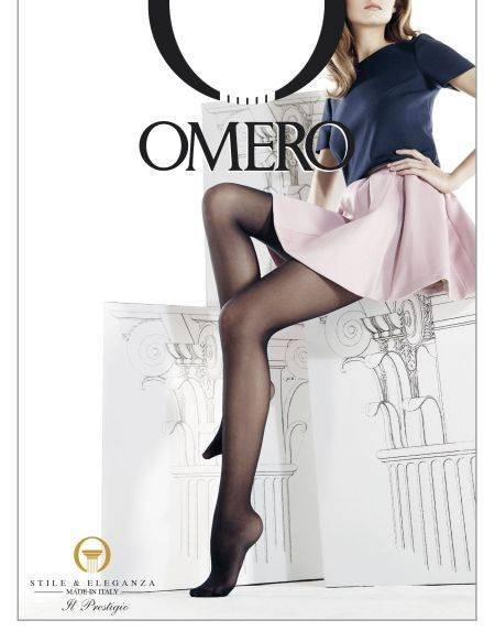 Omero Klassische transparente Strumpfhose Iride Leggero