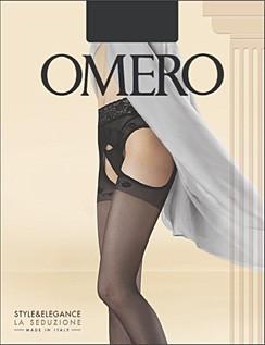 Omero Strip Panty mit Taillenbund aus Spitze Capriccio 20 DEN